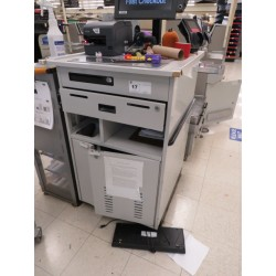 Lot 17 - CASHIER STAND - NO SCANNING SYSTEM