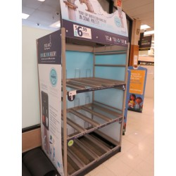 Lot 25 - METAL DISPLAY RACK