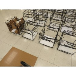 Lot 57 - CHECKOUT BAG STANDS