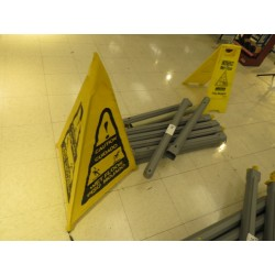 Lot 76 - POP-UP WET FLOOR CONES