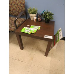 Lot 219 - 20X20 END TABLE