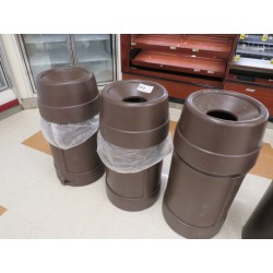 Lot 273 - TRASH CANS