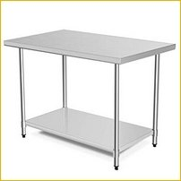 Stainless Tables & Equipment Stands