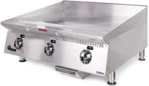 STAR ULTRA MAX 836TCHSA COMMERCIAL FLAT TOP GRILL GRIDDLE, GAS