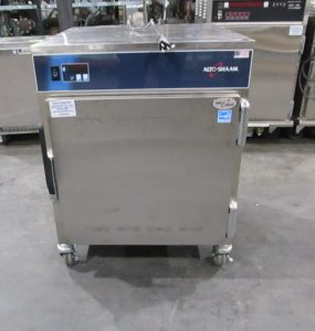 NEVER USED ALTO-SHAAM 750-S HALO HEAT MOBILE HEATED CABINET 10 PAN CAPACITY