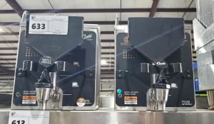 CURTIS GEM3IF SET OF x2 COFFEE SATELLITE HOT LIQUID DISPENSERS